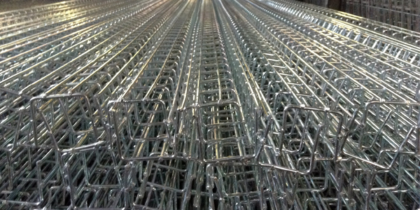 Wire Mesh Cable Trays - Wire Products Poultry